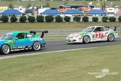 La Porsche GT3 Cup n°41 Orison-Planet Earth Motorsports : Joe Nonnamaker, Will Nonnamaker, et la Por