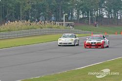 #22 Prototype Technology Group BMW M3: Joey Hand, Boris Said, #47 Michael Baughman Racing Porsche GT3 Cup: Bob Ward, Michael Baughman