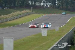 La Pontiac Crawford n°4 Howard - Boss Motorsports : Butch Leitzinger, Elliott Forbes-Robinson, et la