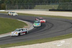 La Porsche GT3 Cup n°86 G&W Motorsports : Mae Van Wijk, Craig Stanton