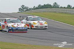 La Porsche GT3 RS n°57 Stevenson Motorsports / Auto Assets : Chip Vance, John Stevenson, et la Porsc