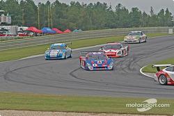 #2 Howard - Boss Motorsports Pontiac Crawford: Milka Duno, Andy Wallace