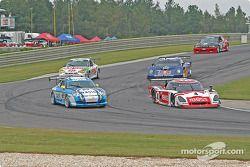 #4 Howard - Boss Motorsports Pontiac Crawford: Butch Leitzinger, Elliott Forbes-Robinson, #65 The Racers Group Porsche GT3 Cup: Dave Master, Steve Pattee