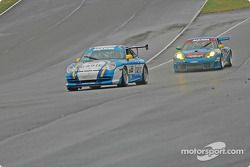 La Porsche GT3 Cup n°65 The Racers Group : Dave Master, Steve Pattee