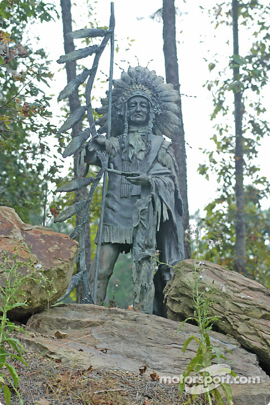 Sculpture d'un aborigène
