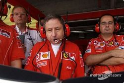 Jean Todt relojes Michael Schumacher vuelta clasificatoria