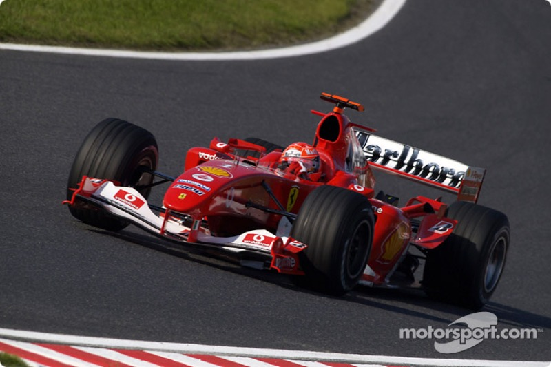 2004: Michael Schumacher, Ferrari