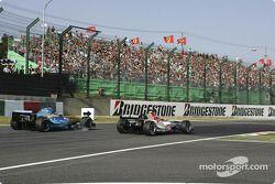 Takuma Sato pasa a Jacques Villeneuve