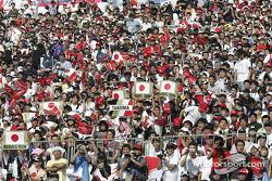 Fans en Suzuka