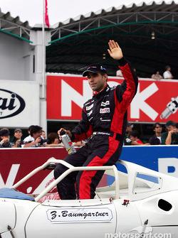 Desfile de pilotos: Zsolt Baumgartner