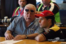 Bob Jane, former Bathurst winner now sponsor of the Great Race