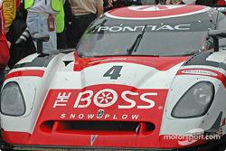 #4 Howard - Boss Motorsports Pontiac Crawford: Butch Leitzinger, Elliott Forbes-Robinson arrives in victory lane