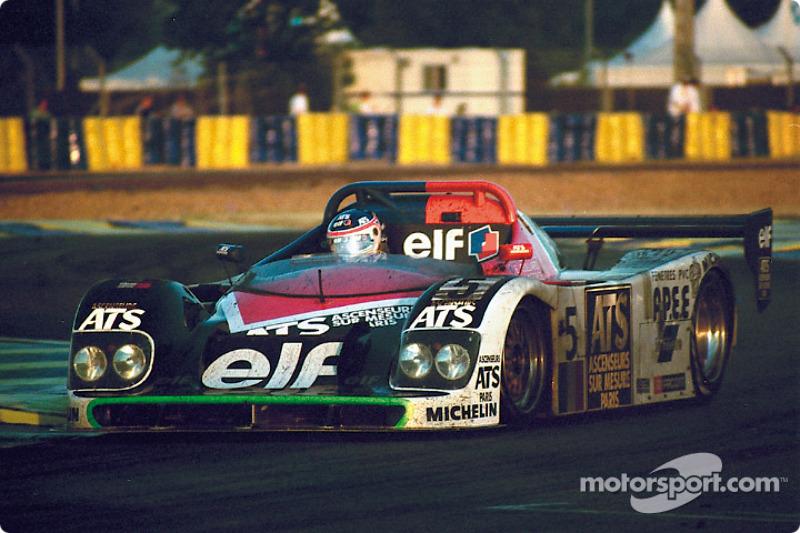 1996 год. Экипаж Эммануэля Коллара, Анри Пескароло и Франка Лагорса, Courage C36
