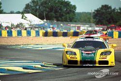#29 Harrod's Mach One Racing, McLaren F1 GTR: Andy Wallace, Olivier Grouillard, Derek Bell
