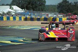 #17 Racing For Belgium, Ferrari 333 SP: Eric van de Poele, Marc Goossens, Eric Bachelart