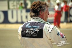 Mario Andretti attend le départ