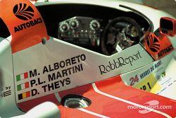 Le cockpit de la Joest Porsche
