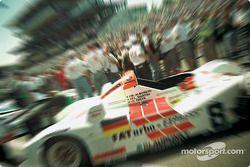 Joest Porsche sur la pré-grille