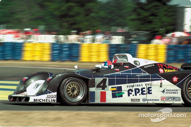 #4 Courage Compétition Courage C36 Porsche: Mario Andretti, Jan Lammers, Derek Warwick