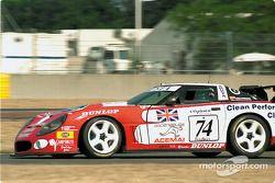 La Corvette n°74 Agusta Racing Team Callaway : Rocky Agusta, Almo Coppelli, Patrick Camus