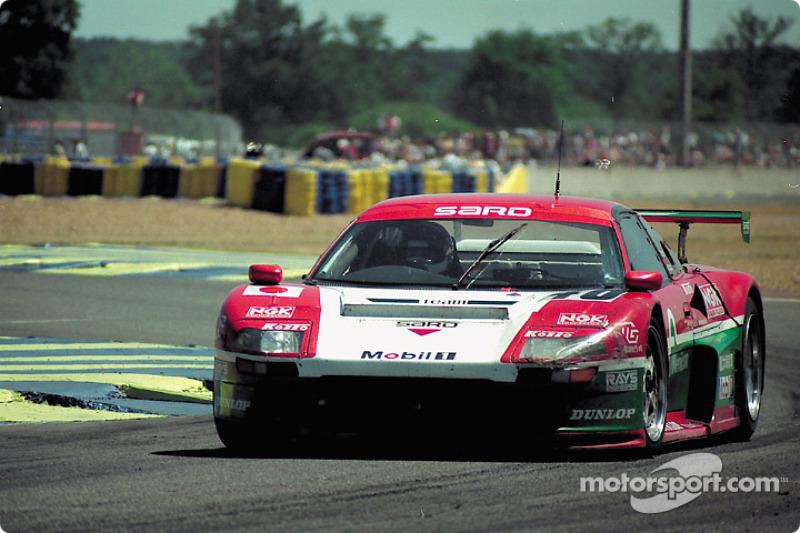 1996: #46 Team Menicon Sard MC8-R Toyota: Alain Ferté, Mauro Martini, Pascal Fabre
