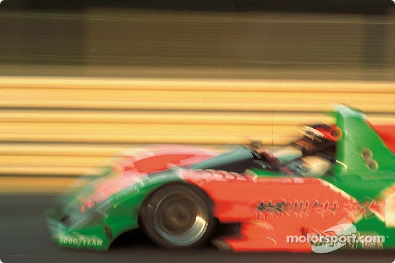 #20 Mazdaspeed, Kudzu DLM Mazda: Franck Fréon, Yojiro Terada, Jim Downing