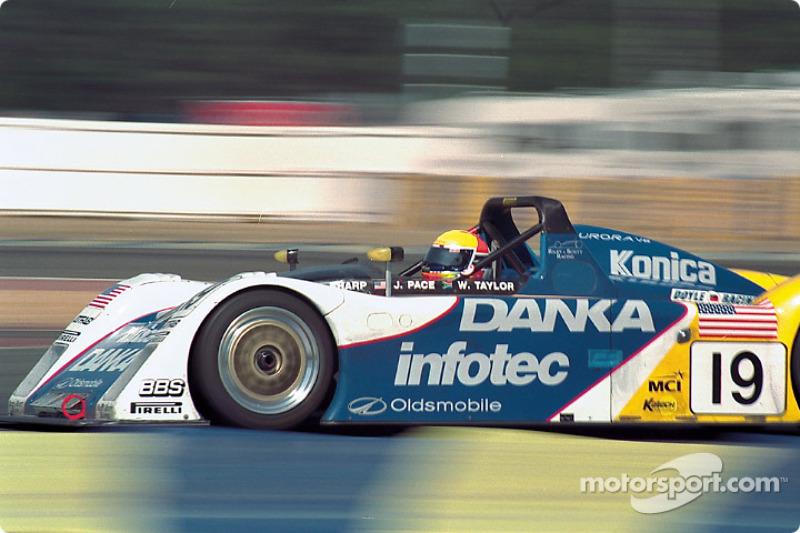 #19 R & S Cars, Riley & Scott Mk III: Wayne Taylor, Scott Sharp, Jim Pace