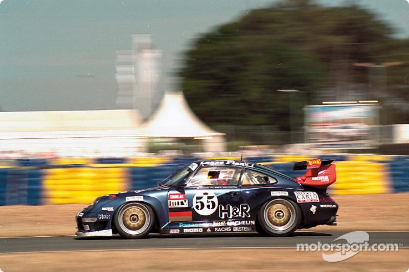 #55 Roock Racing Team, Porsche 911 GT2 Evo: Jean-Pierre Jarier, Jésus Pareja, Dominic Chappell