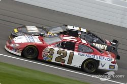 Ricky Rudd and Joe Nemechek battle for the win