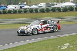 La Porsche GT3 RS n°77 G&W Motorsports : Mark Greenberg, Spencer Pumpelly
