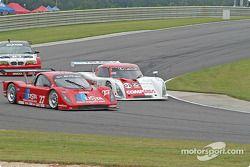 La Lexus Doran n°27 Doran Lista Racing : Didier Theys, Andrea Montermini, et la Lexus Riley n°02 CGR Grand Am : Jimmy Morales, Luis Diaz