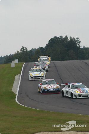 La Porsche GT3 RS n°60 Gunnar Racing : Gunnar Jeannette, Marino Franchitti, et la Porsche GT3 RS n°5