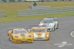 #06 ICY/ SL Motorsports Corvette: Steve Lisa, David Rosenblum, Chuck Hemmingson, #39 The Spark of Georgia Tech Pontiac Crawford: Chris Hall, Andrew Davis