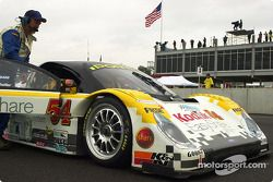 Bell Motorsports Pontiac Doran on the starting grid