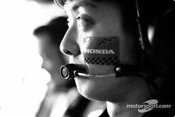 Miembros del equipo BAR Honda