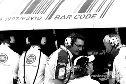 Jenson Button y Geoff Willis