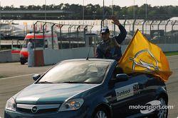Drivers parade: Peter Dumbreck