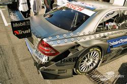 Details of Gary Paffett's Mercedes AMG