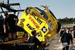 La voiture accidentée de de Jarek Janis