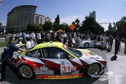 The Sixth Annual Mini Le Mans of San Jose: White Lightning Racing Porsche 911 GT3 RSR for drivers Cr