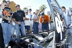The Sixth Annual Mini Le Mans of San Jose: looking under the hood of the Cadillac CTS-V