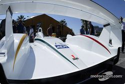 The Sixth Annual Mini Le Mans of San Jose: rear-deck of the ADT Champion Racing Audi