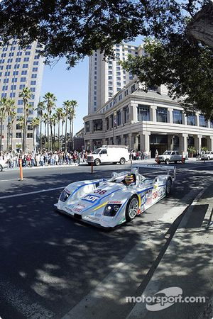 The Sixth Annual Mini Le Mans of San Jose: Pierre Kaffer takes the Audi 'round the Plaza