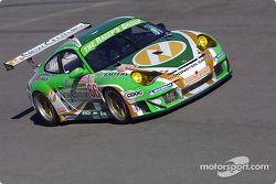 #66 The Racers Group Porsche 911 GT3 RSR: Patrick Long, Cort Wagner