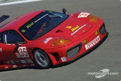 #35 Risi Competizione Ferrari 360 Modena GTC: Ralf Kelleners, Anthony Lazzaro, Fabrizio De Simone