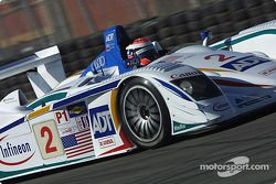 #2 Champion Racing Audi R8: Johnny Herbert, Pierre Kaffer