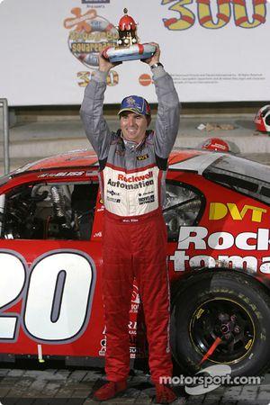 Le vainqueur Mike Bliss