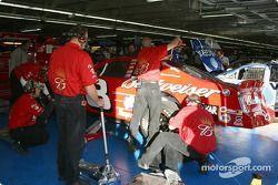 Budweiser Chevrolet crew at work