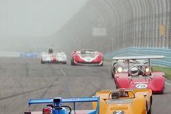 Can Am sprint race bij bocht 1op Watkins Glen.