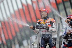 Podium: 2de Andrea Dovizioso, Repsol Honda Team